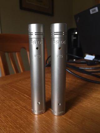 Micros condensador Rode NT5