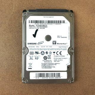 """DISCO DURO 500GB 2,5"""" SAMSUNG PARA PORTATIL"""
