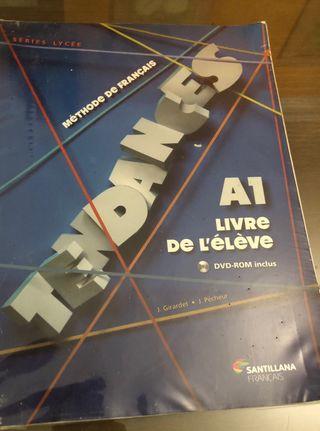 Libro primero 1 bachillerato A1 francés