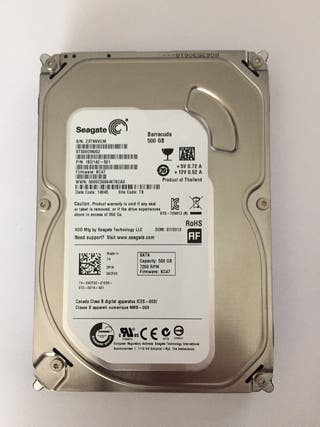 """SEAGATE Disco duro interno 3.5"""" 500Gb"""