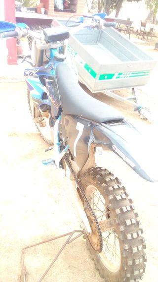 Yamaha yz 125. cc