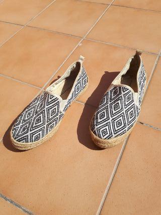 Sandalias de esparto