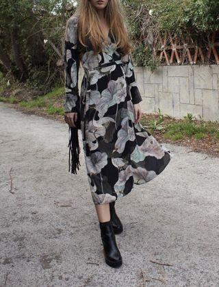 Vestido/batín Zara M
