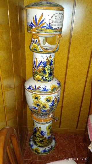 depurador de agua vintage