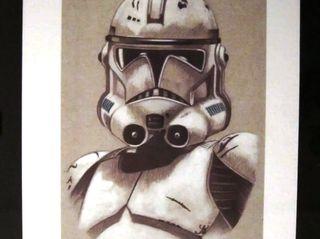 4 Litografías Star Wars