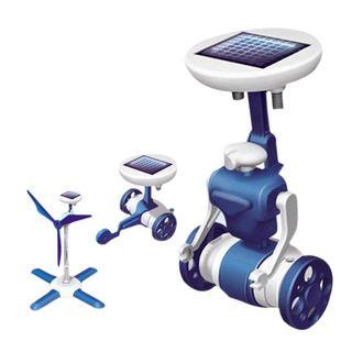 Kit Robot 6 en 1 juguete solar