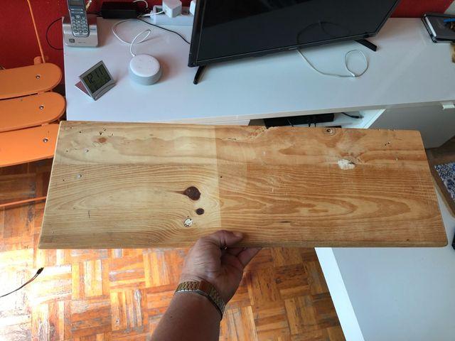 Estantería de madera