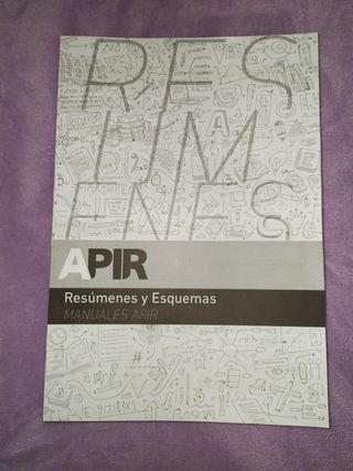 manual de resúmenes PIR APIR