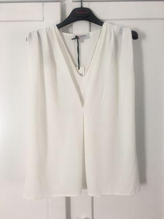 Blusa blanca Morgan