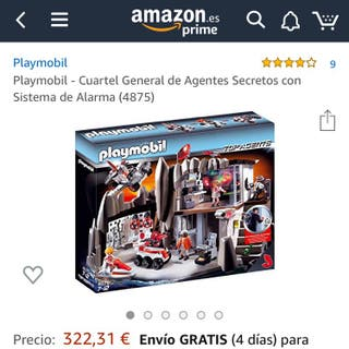 Playmobil 4875 Agentes Secretos