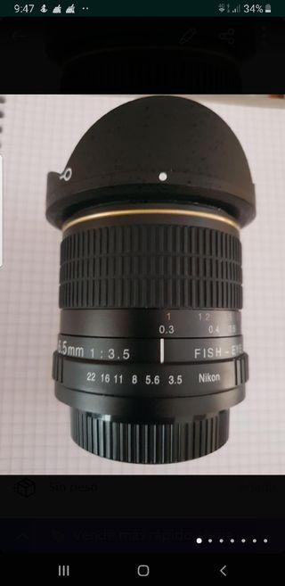 Objetivo NIKON 6,5 mm.