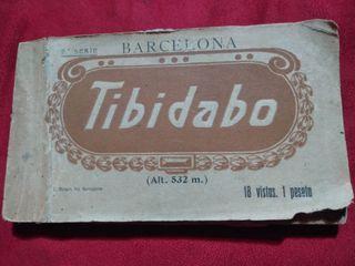 ANTIGUO ALBUM VISTAS TIBIDABO