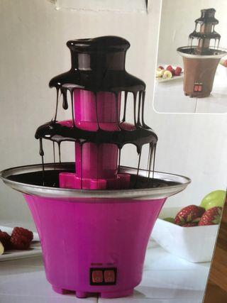 Fuente de chocolate electrica