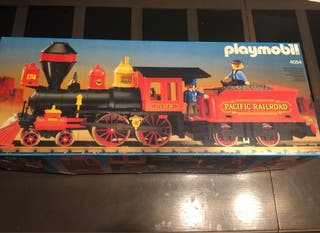 Tren playmobil oeste Steaming Mary 4054