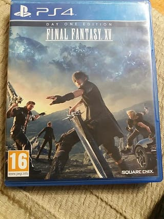 Juego para ps4 day one edition FINAL FANTASY.XV