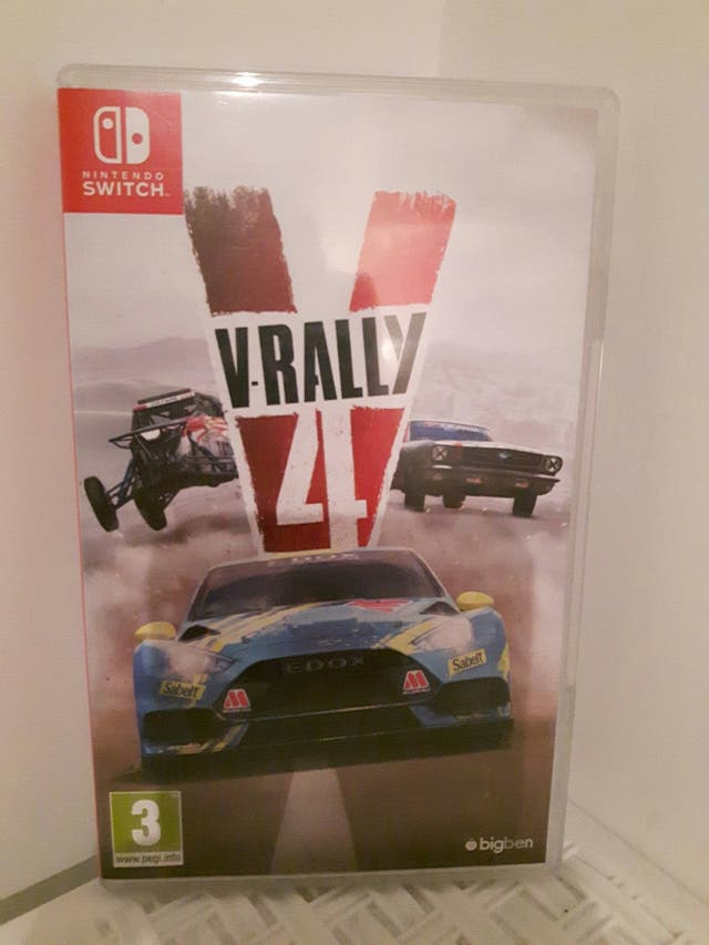 V Rally 4 nintendo switch