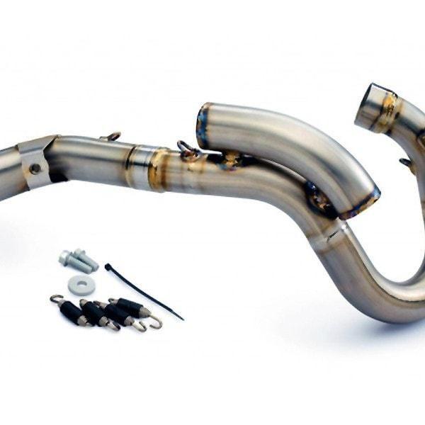 Colector Akrapovic Titanium para KTM Exc-f 250 17-