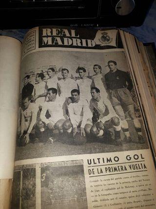 Libro Real Madrid C.F recortes de prensa