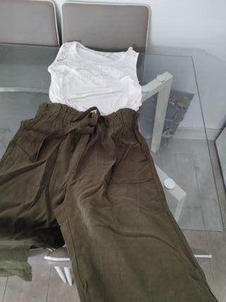 pantalón y camiseta xl
