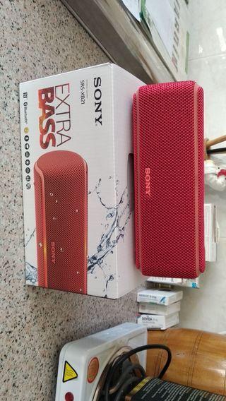 Altavoz Sony SRSXB21R