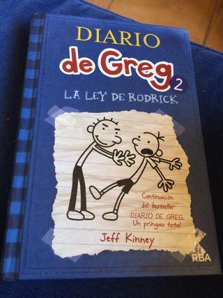Diario de Greg 2 y 3