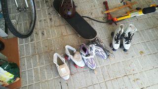 patines juguetes cascos