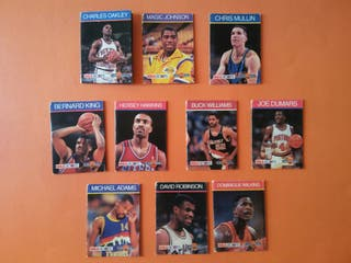 cromos NBA AÑO 1990 JBC PATENTS PENDING