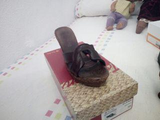 zapato de cuña n°39