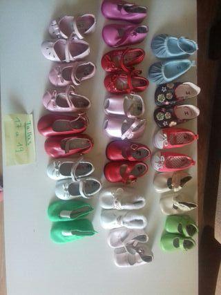 zapatos bebes niña