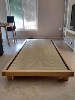 cama tatami 100x200 tapifle mimbre