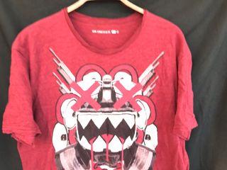 Camiseta manga corta burdeos LEVIS talla XL