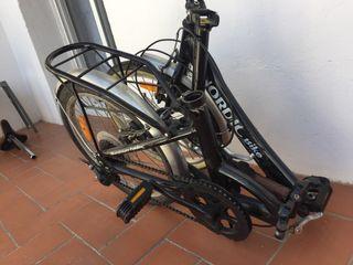 Bicicleta plegable aluminio Frist Class