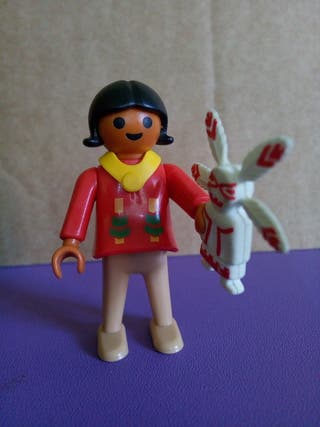 Playmobil niña india