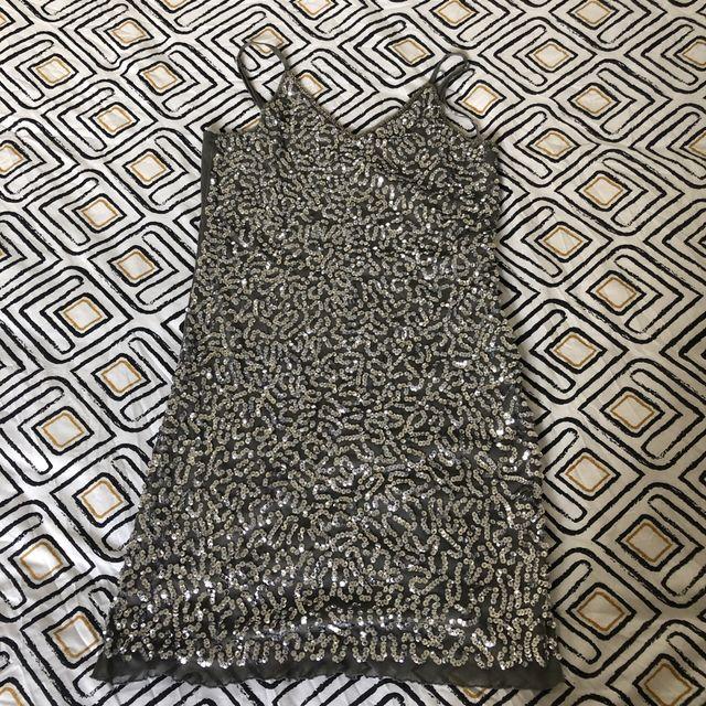 Sparkling skinny dress
