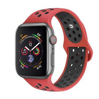 Correa Silicona Roja Apple Watch 4 44mm