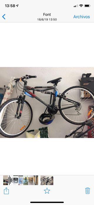 Bicicleta rock Ryder de montaña nueva