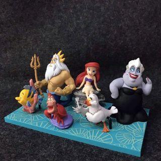 Pack de figuras de La Sirenita