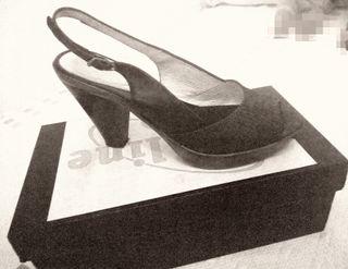 zapato de piel n° 39