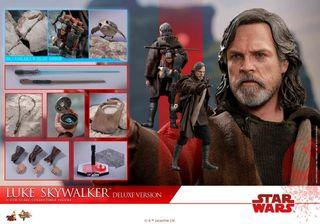 Luke Skywalker DELUXE Hot Toys