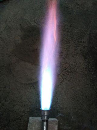 """quemador gas venturi 1"""" FORJA,FUNDICION,CERAMICA"""