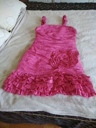 vestido estilo flamenco fiesta o eventos nuevo