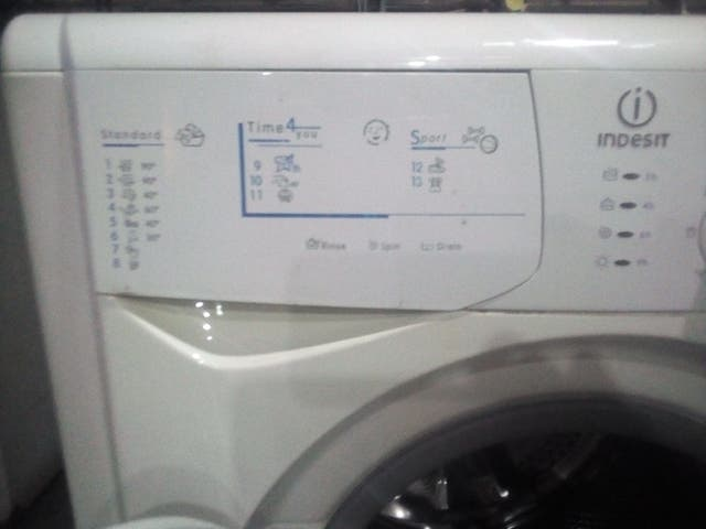 lavadora secadora Indesit 7 kg