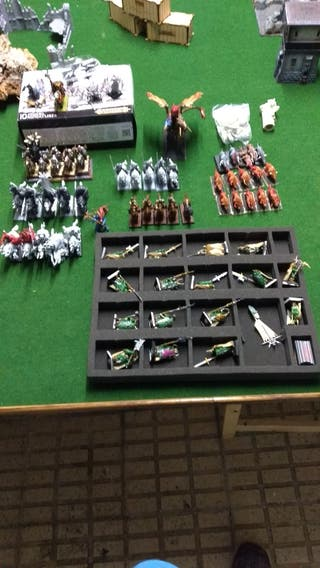 Ejército Caos Warhammer