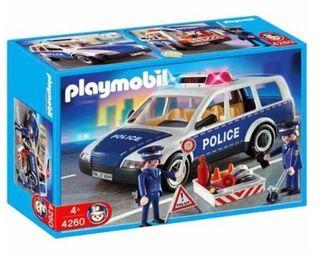 playmobil: coche policial. NUEVO
