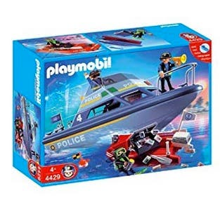 Playmobil: patrullera policia NUEVA