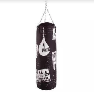 Saco Boxeo y guantes como nuevos