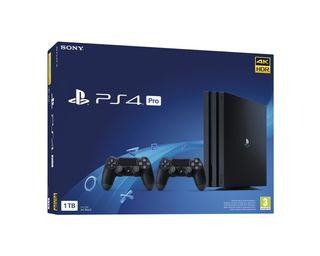 Sony PS4 Pro 1TB + 2 Mandos nueva