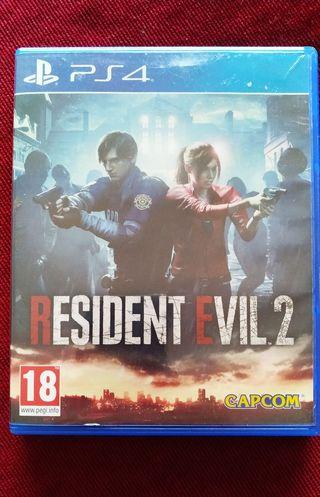Resident Evil 2 Remake para PS4 en español