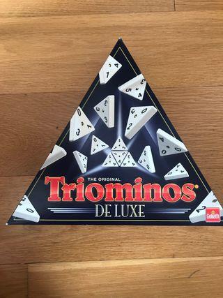 Triominos (domino de tres números)