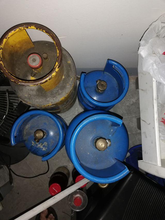 5 bombonas gas aire acondicionado